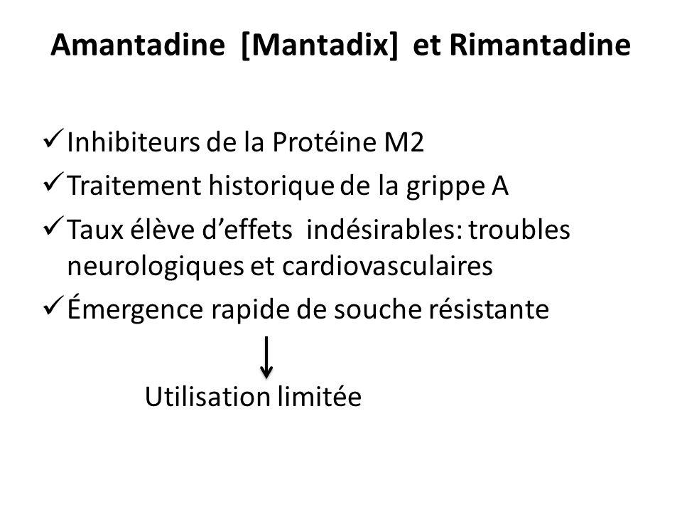 Amantadine [Mantadix] et Rimantadine